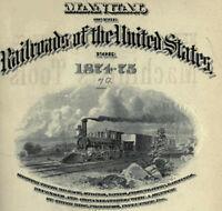 Poor's Manual of Railroads - 22 Volumes 1874-1903 DVD - C661