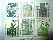 #9 GERMANY BUILDING USED STAMPS 7'S