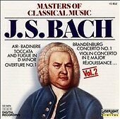 Masters of Classical Music. 018111580229. J.S. Bach New Sealed