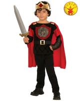 RUBIES Boys Costume Fancy Dress Halloween Book Week Medieval King Knight 630974
