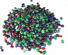 Emerald, Ruby & Sapphire Loose Gemstone Wholesale Lot 5000 Ct Natural Mix Shape