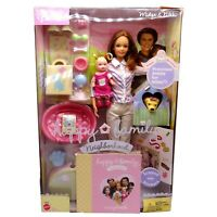 Barbie Midge & Nikki Happy Family Neighbourhood Happy Birthday New in WORN Box