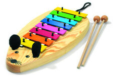 Sonor Mouse - Glockenspiel MG Xylophone in C-major 8 Notes Wooden Case Mausform