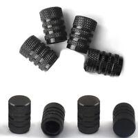 4x Aluminium Car Wheel Tyre Valve Stems Air Dust Cover Screw Cap Accessories