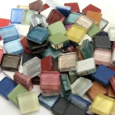 100 Crystal Assorted Mosaic Glass Tiles