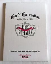 GIRLS GENERATION SNSD First Japan Tour 2011 Concert Souvenir Photo Book K-POP n2