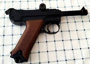 Rare Capgun Vintage Colt WOODSMAN TARGET Air Soft Luger Made Japan OLD Replica