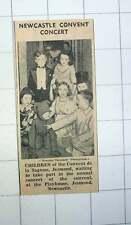 1939 Pupils Of Convent De La Sagesse Jesmond Annual Concert