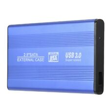"Y3T1 USB 3.0 HDD SSD SATA External Aluminum 2.5"" Hard Drive Disk Box Enclosure C"