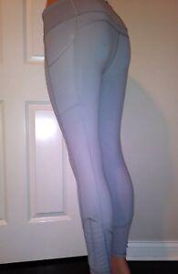 VICTORIA'S SECRET  VSX SPORT TWISTED PLEATE pocket tight leggings gray L short