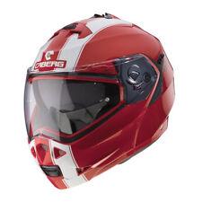 CASCO CABERG MODULARE DUKE II 2 ROSSO BIANCO Ducati red/white LEGEND TAGLIA M