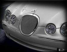 Jaguar S-Type Lower Bumper Mesh Grille (Bright stainless or Black) 1999 - 2004