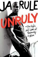 JA RULE autographed UNRULY Book NEW PSA JSA RAP R&B WHATS LOVE GOT TO DO 1st ed