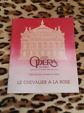PROGRAMME - Opéra de Paris - Le chevalier à la rose, Strauss - 1981