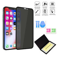 1x Full Cover Privacy Anti-Spy Tempered Glass Screen Protector for iPhone XR/11