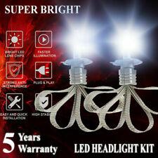 CSP H4 9003 40W 4800LM 6000K Fanless LED Headlight Conversion Kits Hi-Lo Bulbs