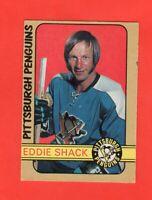 1972-73 O-Pee-Chee OPC  # 274  Eddie Shack Ex-exmt
