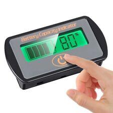 Battery Monitor Voltmeter Voltage Tester Capacity Indicator SOC Acid Lead 12V24V