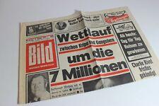 BILDzeitung 03.01.1972 Januar Umschlagsseiten / 4 Seiten