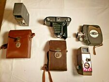 New ListingCamera Lot of 4 Vintage Cameras 3 - Movie, 1 - film Zeiss Ikon, Bell and Howell