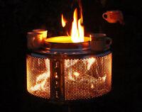 Waschmaschinentrommel Feuerschale Feuerstelle Feuerkorb