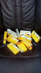 TWELVE PLASTIC KODAK BOXES PLUS THREE HUNDRED INTERESTING 35mm SLIDES 1960's-80s