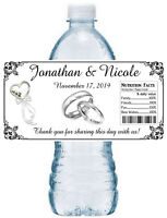 10 Mermaid Birthday Party or Shower Favors Personalized Water Bottle Labels