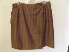 COUNTRY ROAD WRAP SUMMER WOOL CORPORATE PENCIL AUSTRALIAN MADE SKIRT size L 14
