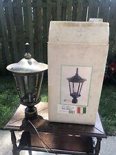 Imperial Lighting Co~Bronze Outdoor Post Lantern Glass Lamp Head ~New