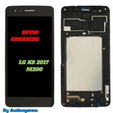P1 DISPLAY LCD+TOUCH SCREEN +FRAME PER LG K8 2017 NERO M200N CORNICE COVER VETRO