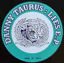 "DANNY TAURUS - Lies EP (12"") (EX/VG)"