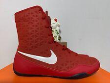 Nike Ko Boxing Shoe Varsity Red White Black New Men's 10.5 [839421-600]