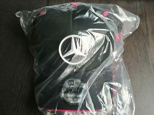 MERCEDES-BENZ E-Sports Tonal Black 9FORTY CAP New Era hat with pink