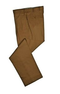 Brioni Dark Yellow Cortina Pants 32 (EU 48) Made in Italy fine Cotton