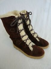 Vintage 70'S Suede Leather Winter Boots