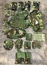 US Army MOLLE II woodland camouflage Rifleman WCP Infantry Men Set 20 teile