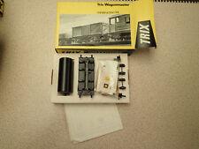 Trix Wagonmaster OO Gauge 2025 Black Tank Wagon Kit Unmade Missing Label