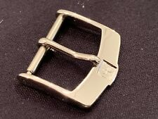 ZENITH 16 mm Fibbia Buckle Stainless Steel acciaio inox  NEW genuine originale