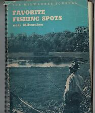 1966 Favorite Fishing Spots Near Milwaukee Booklet