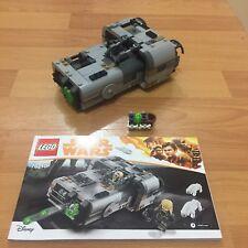 LEGO Star Wars Set 75210 Moloch's Speeder Ammo & Instructions (no figures)