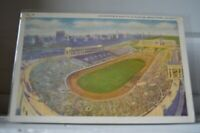 C 1940 Soldier Field And Field Museum Grant Park Chicago Illinois Postcard