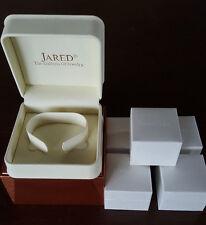 Lot Of 6 Jared Pandora Charm/Ring/Bracelet/Bead Storage Unit Boxes Empty Only