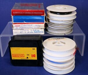 Lot of 15 Old 8mm Home Movie Films from the 1960's