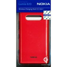 Genuine Nokia CC-3041-R Wireless Charging Shell Case For Lumia 820 - Red
