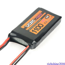 NEW VOK Lipo Battery 2S 7.4V 1100mAh 25C Battery for RC Racing Quadcopter Drone