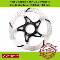 TRP Heat Dispersion TRP-25 Centerlock MTB Bike Disc Brake Rotor 140/160/180 mm