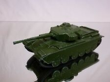 DINKY TOYS 651 CENTURION TANK MILITARY - ARMY GREEN L12.5cm - GOOD CONDITION