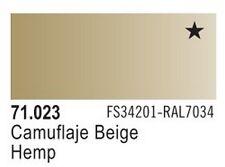 Vallejo Hemp Model Air Color 17ml Bottle Paint 71.023 VLJ71023