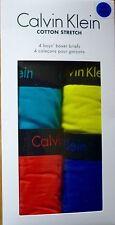Calvin Klein Boys' Boxers Underwear 2-16 Years
