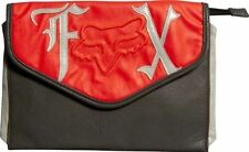 LADIES FOX RACING GENERATION CLUTCH IN CHARCOAL AND RED HUGE PLENTY OF ROOM